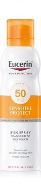 Eucerin Sun Spray Transparent Dry Touch Sensitive Protect SPF 50